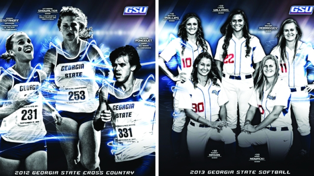 The 2012-13 GSU cross country and softball media guides earned top honors as a part of the CoSIDA Publications Contest.