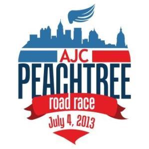 2013 Peachtree Road Race T-Shirt Design