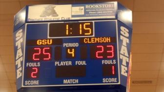 Final Scoreboard Against Clemson