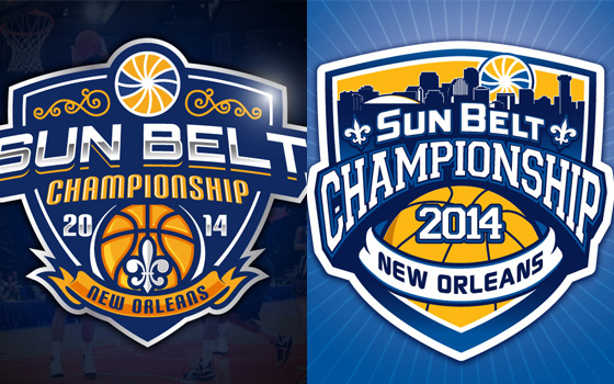 vote now for the sun belt basketball championship logo