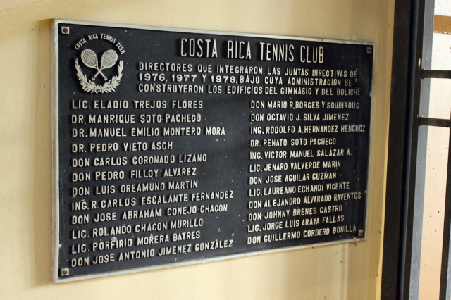 The Costa Rica Tennis Club had a little bit of everything for those who love to play sports.